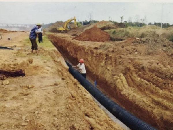 上饶市三江片区水管网项目改造工程