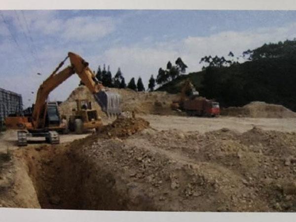 九江市星子县新建工业园主支干道污水管网工程