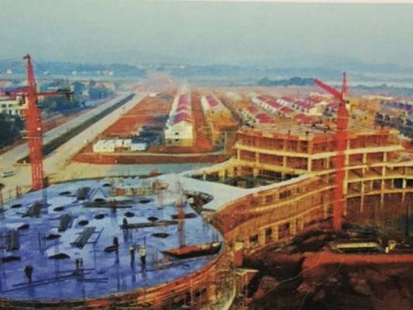 九江市民生集团大千世界安置房污水管网
